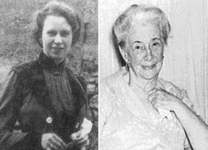 Helena Morley ou Alice Dayrell Caldeira Brant, antes e depois: foto nova e velha