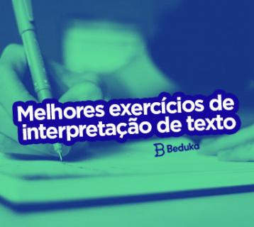 Exercícios de Interpretação de Texto