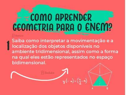 como aprender geometria para o enem tridimensional e bidimensional