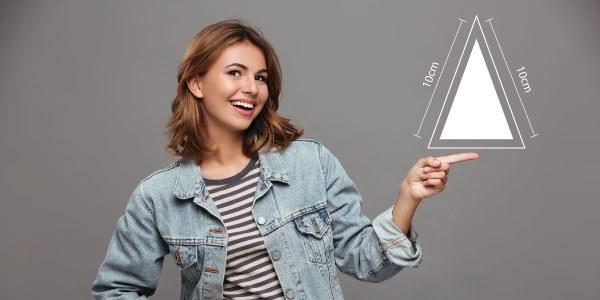 O que é triângulo isósceles?
