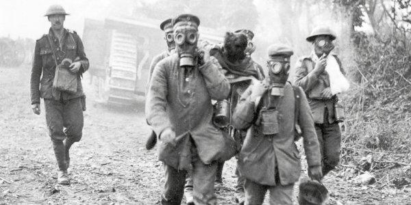 questões de vestibular sobre a Primeira Guerra