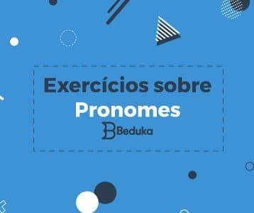 exercícios sobre pronomes