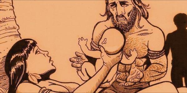 O nascimento de Moacir mito dundador do Ceará