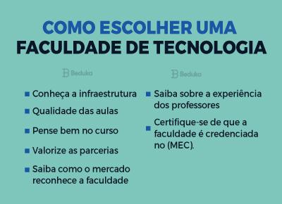 Como escolher faculdade de tecnologia