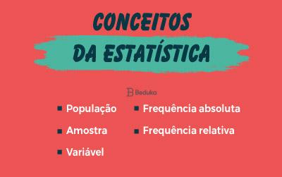 Conceitos da Estatística