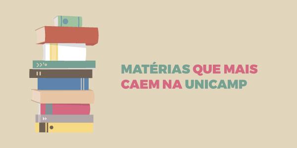 Matérias que mais caem na Unicamp
