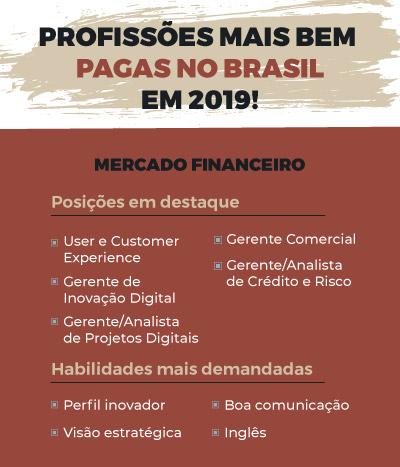 profissões mais bem pagas no Brasil em Mercado Ficanceiro