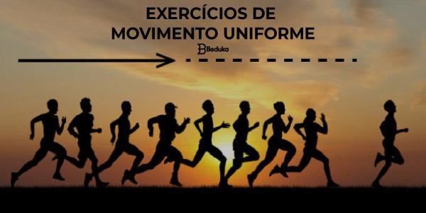 Exercícios de Movimento Uniforme com Gabarito