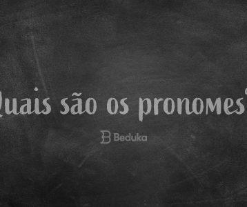 quais são os pronomes