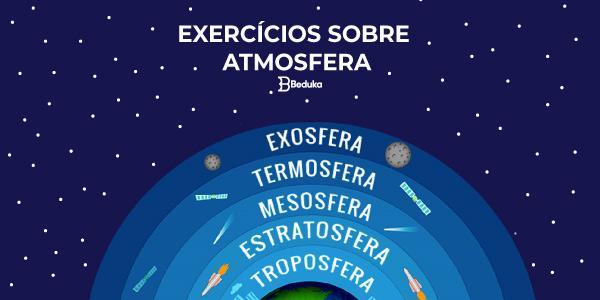 Exercícios sobre Atmosfera