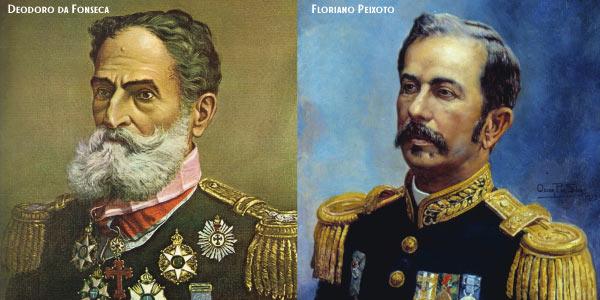 Floriano Peixoto e Deodoro da Fonseca