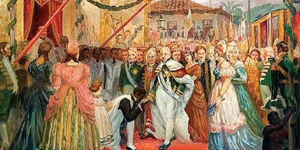 Exercícios sobre a Independência do Brasil coroa portuguesa