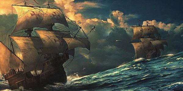 Exercícios sobre Expansão Marítima