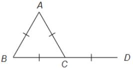 Exercícios de Triângulos