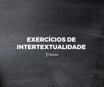 Exercícios de Intertextualidade