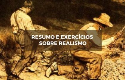 Exercícios sobre Realismo