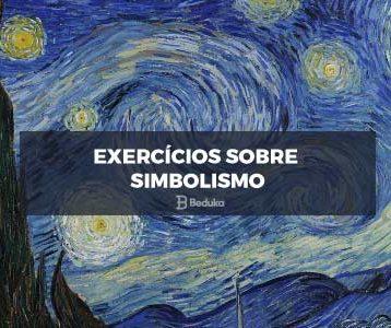 Exercícios sobre Simbolismo