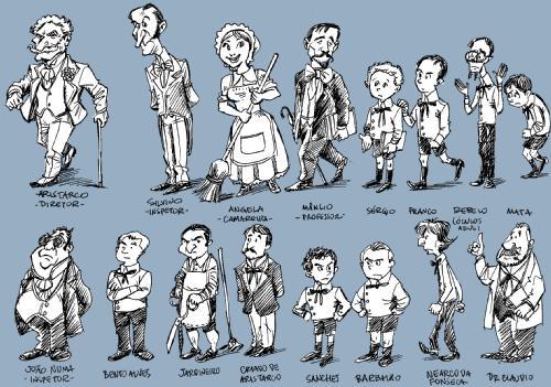 Personagens de O Ateneu resumo e análise