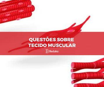 Questões sobre Tecido Muscular