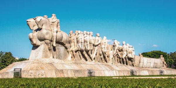 monumento à bandeira primeira fase do modernismo