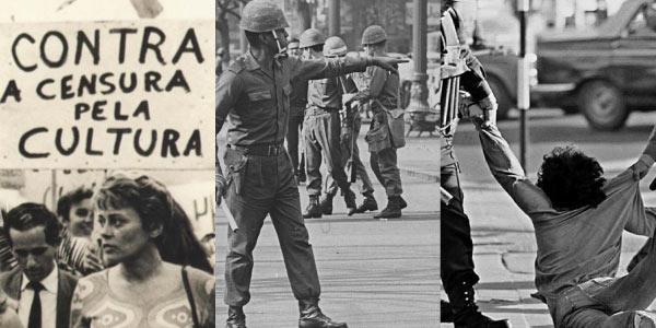 opressão ditadura militar - Exercícios sobre Ditadura Militar