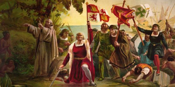 Cristovão Colombo na America