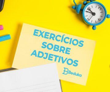 Exercícios sobre Adjetivos
