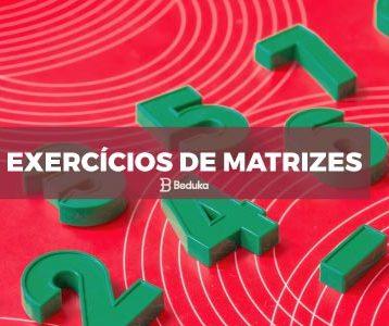 Exercícios de Matrizes