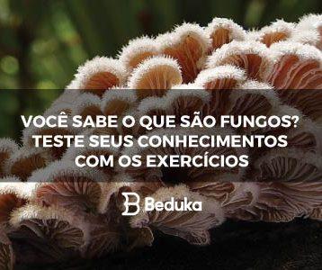 Exercícios sobre Fungos