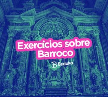 Exercícios sobre Barroco