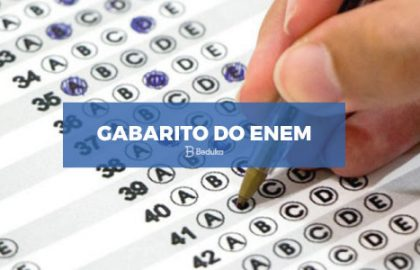 Gabarito do Enem
