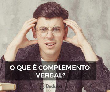 O que é Complemento Verbal