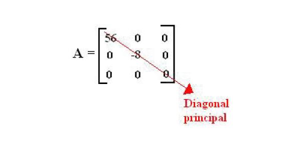 diagonal Exercícios de Matrizes