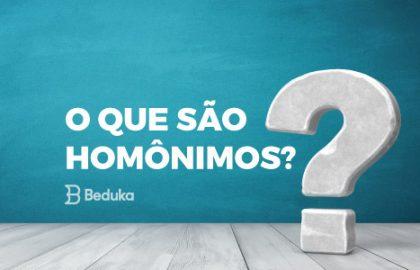 O que são Homônimos?