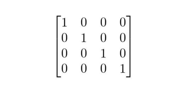 matriz-identidade - Exercícios de Matrizes