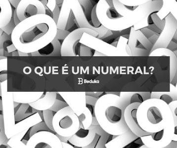 O que é Numeral?