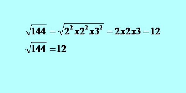 raiz quadrada-Exercícios sobre Fatoração