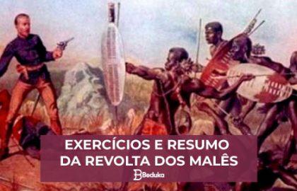 Exercícios e Resumo da Revolta dos Malês