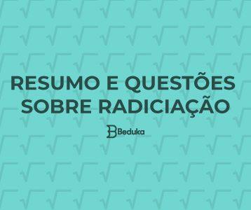 Exercícios sobre Radiciação