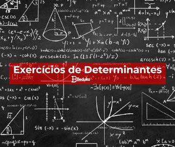 Exercícios de Determinantes