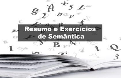 Exercícios de Semântica