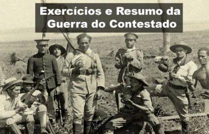 Exercícios e Resumo da Guerra do Contestado