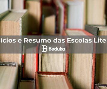Exercícios e Resumo das Escolas Literárias