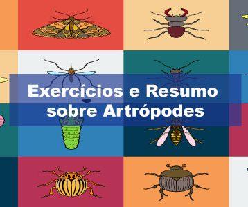 Exercícios sobre Artrópodes