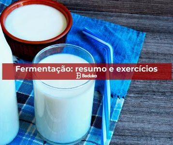 Exercícios sobre Fermentação
