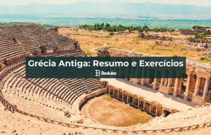 Exercícios sobre Grécia Antiga