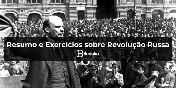 Exercícios sobre Revolução Russa