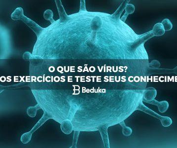 Exercícios sobre Vírus