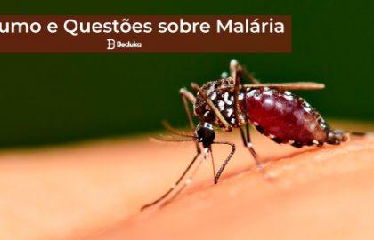 Questões sobre Malária