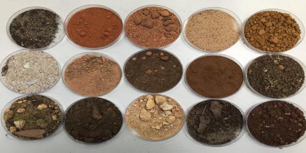 Imagem que representa quais são as cores do solo